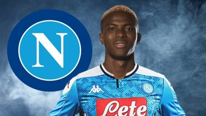 Victor Osimhen scores hat-trick in 8 minutes on Serie A debut for Napoli