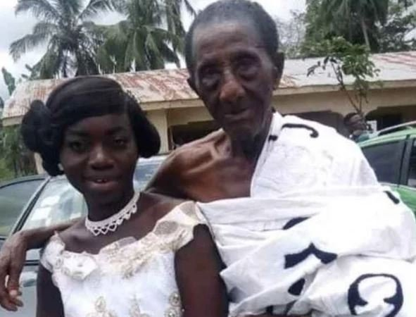 Joy! Lady 35, ties knot with her 106-year-old lover