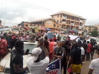 Osun #EndSARS protesters