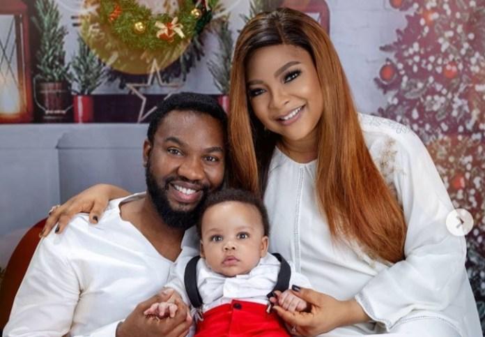 Linda Ejiofor Finally Reveal Son's Face In Family Photos