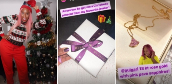 DJ Cuppy's Mystery Lover Gifts Her Expensive Jewelry Worth N1.9M