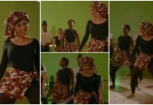 Cardi B Learns African Dance, Rocks Gele And Wrapper