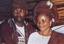 Yoruba Actor Adekola Tijani Celebrate 13th Wedding Anniversary