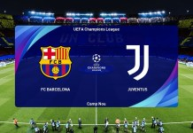 Barcelona vs Juventus (2nd Leg) UEFA Champions League 2020/21 Gameplay -  YouTube