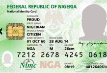 NIMC Issues New Guidelines For NIN Registration