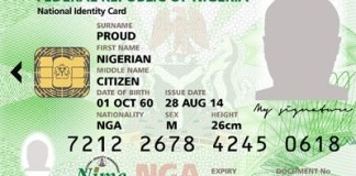 Only 60m Nigerians has registered with NIMC for NIN - Official