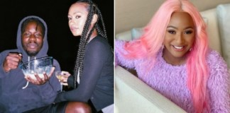 Temi Otedola Speaks About DJ Cuppy's Reaction Over Her Relationship With Mr Eazi