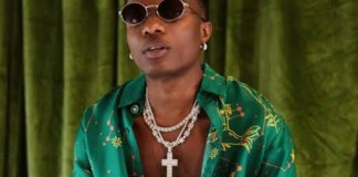 Checkout What A Wizkid Fan Did To Himself To Get Attention