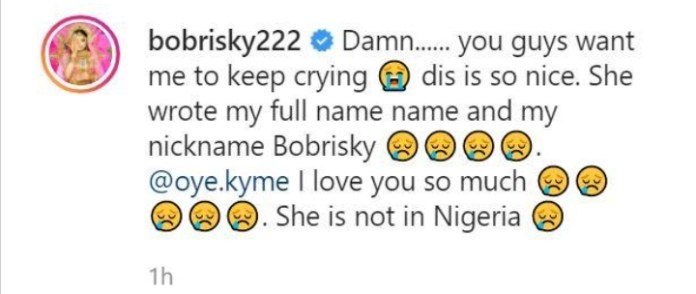 Bobrisky Excited As Another Lady Inscribed His Full Name On Her Arm
