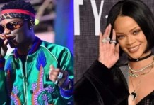 Rihanna Spotted Vibing To Wizkid's Song 'Essence'