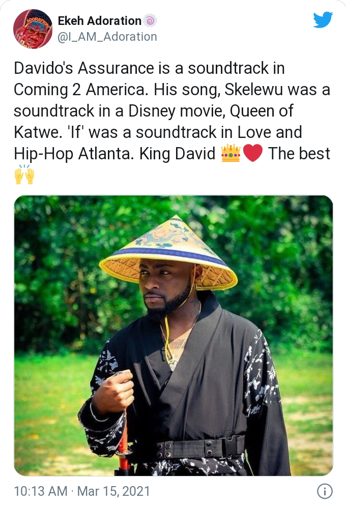 Internet User Says Davido Is The Rightful Owner Of The Grammy Award