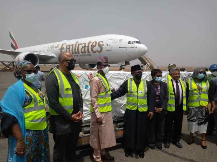 JUST IN: First batch of COVID-19 vaccines, AstraZeneca arrive Nigeria