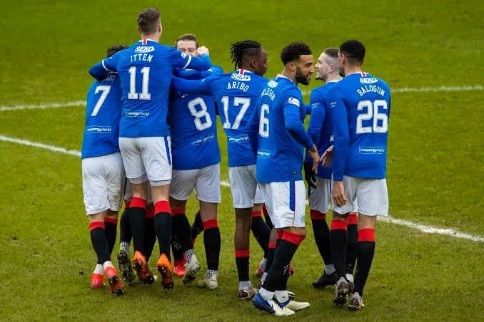 Breaking: Rangers Win Scottish Championship