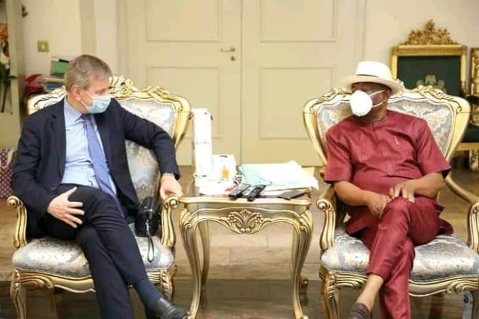 Investment: Belgian Ambassador visits Rivers on business tour