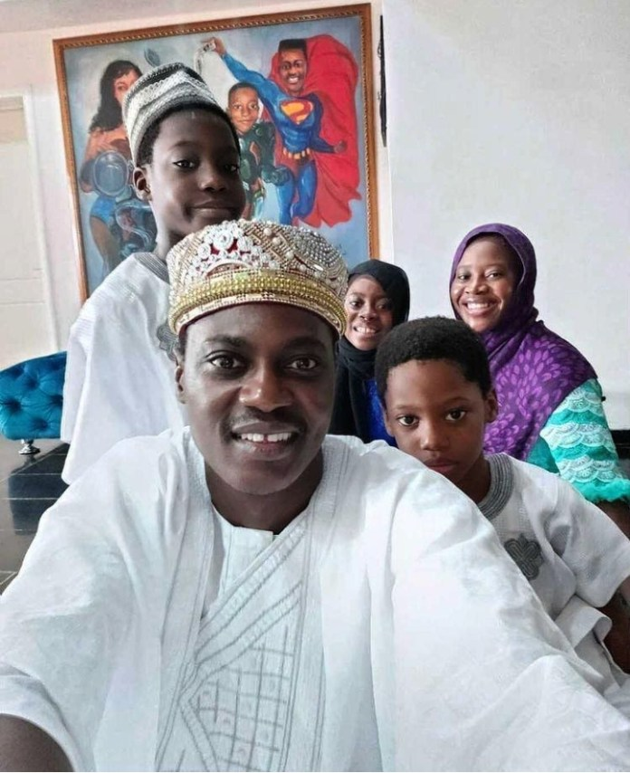 Sound Sultan Shares Family Photo To Celebrate Eid Amid Sickness Rumour