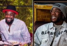Patoranking Gets Cash Gift Of N1M From Burna Boy On His Birthday