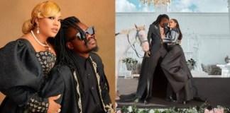 Toyin Lawani's Husband Denies Rumour Of Abandoning His Kids