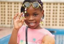 Davido's Daughter, Tiwa Savage's Son Share Fond Memories Of Obama DMW