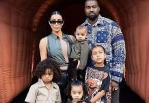 Kim Kardashian Attends Kanye West's Album Release