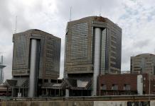Nigerian National Petroleum Corporation (NNPC) headquarters are seen in Abuja, Nigeria