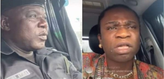 Rapper Speed Darlington Cries Out After Being Arrested By A Policeman