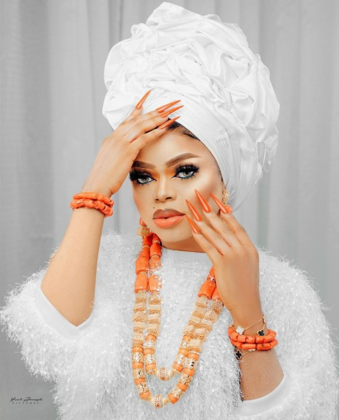 Bobrisky Stun Fans With Second Outfit Ahead Of 30th Birthday