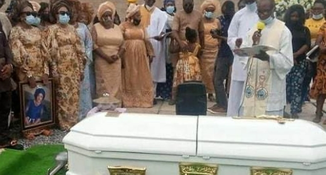 Photos, Videos As Rachel Oniga Is Laid To Rest