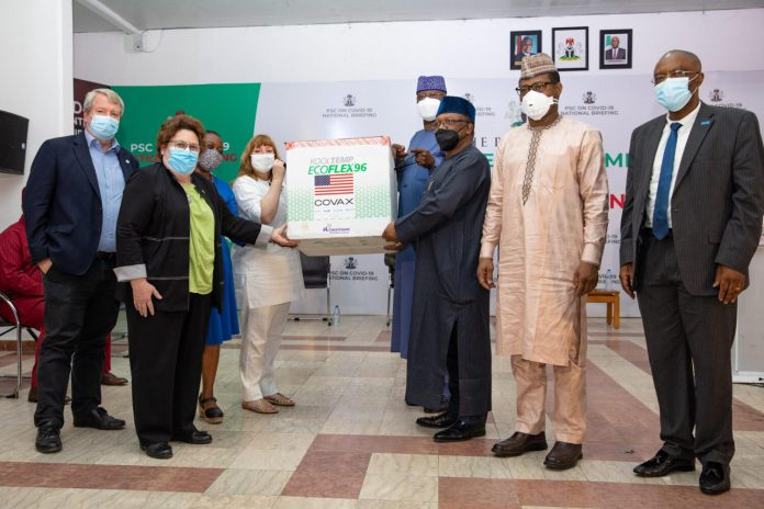 Nigeria receives 4 million COVID-19 vaccine from United States