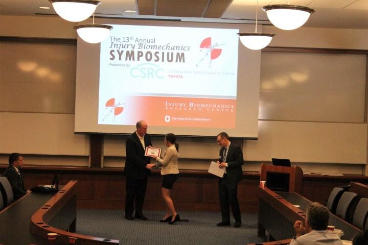 Best Oral Presenter Award - Michelle Murach