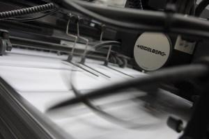 Artes gráficas - máquina de impresión