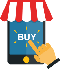 Buy on phone from ecommerce store