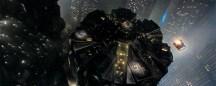 Blade-Runner_Spinner-Landing-on-Police-HQ