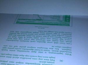 dakwat printer kuar hijau