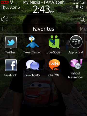 apps chaton on blackberry torch