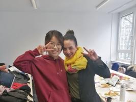 Yuyi Xu (China) und ihre Kursleiterin
