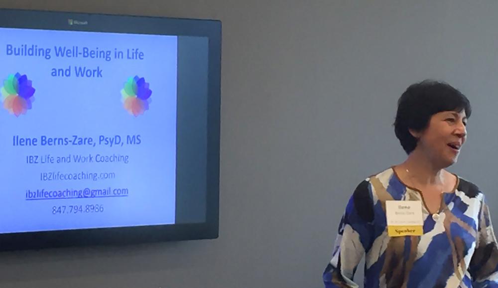 Speaking Services - Ilene Berns-Zare at illinois diversity conference 9-2016