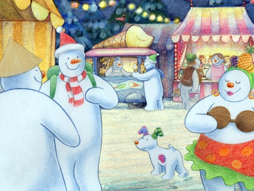 Image result for the snowman and the snowdog