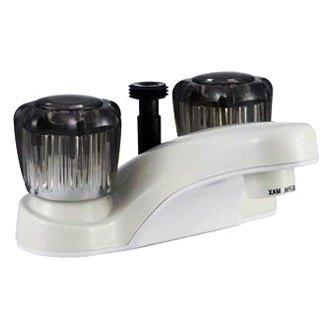 rv shower tub faucets single