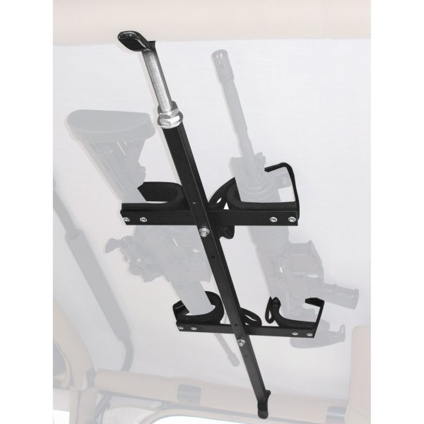 great day qd857t ogr jeep quickdraw 42 48 overhead tactical gun rack