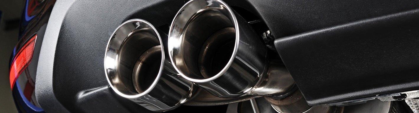 dodge challenger exhaust tips rolled