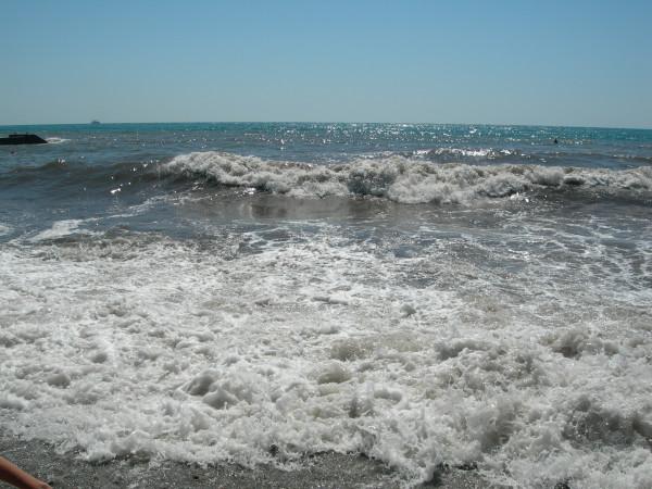 Липень. Море
