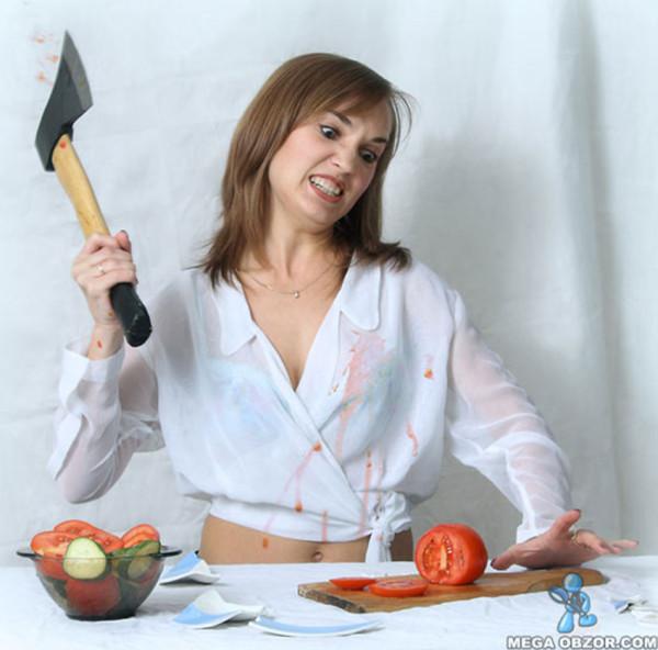 Русская жена усердно сосет 1 фотография