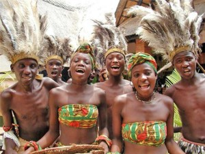 قبایل نژادهای سیاه