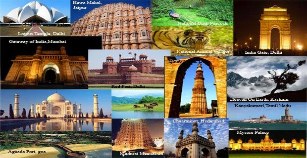 Popular tourist places in South India