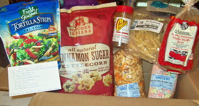 September Foodie Pen Pal Package
