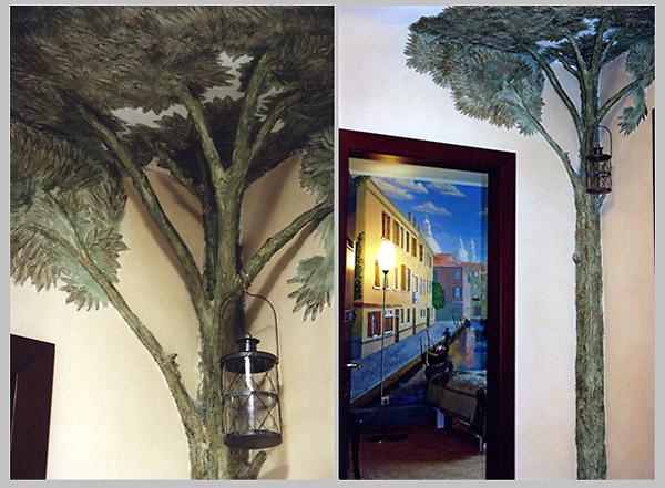 Художественная лепка. Лепные деревья в интерьере - Заметки ...