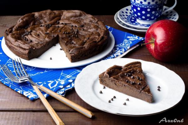 Шоколадный пирог с авокадо без муки!