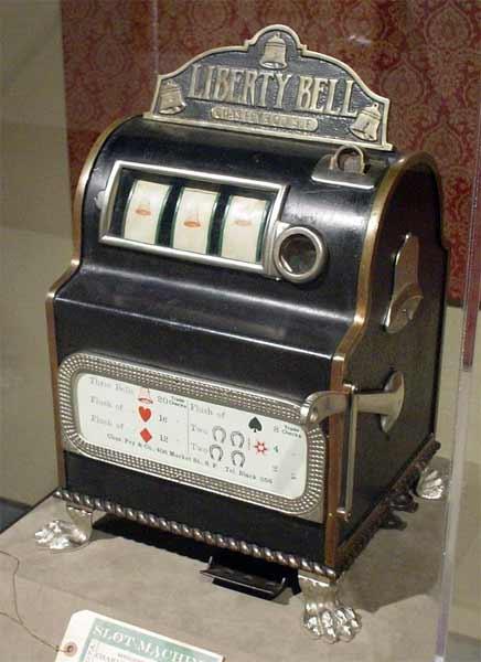 Первые механические игровые автоматы таблица онлайн казино мой мир