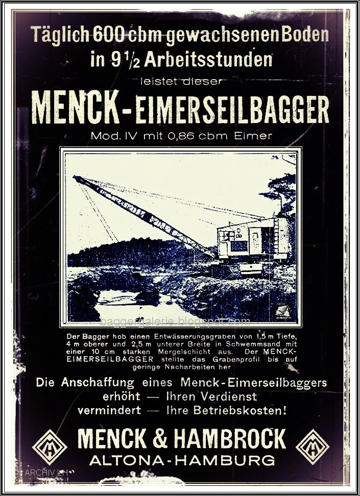 Menck Dampfbagger.blog. 1.!