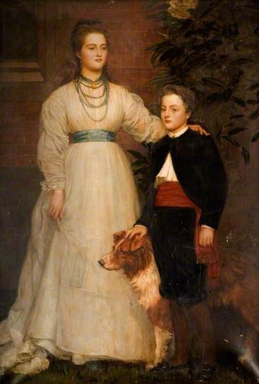 Theresa_Susey_Helen_Talbot,_LaterMarchioness_of_Londonderry_and_Charles_Henry_John,_Viscount_Ingestre_(1860–1921)